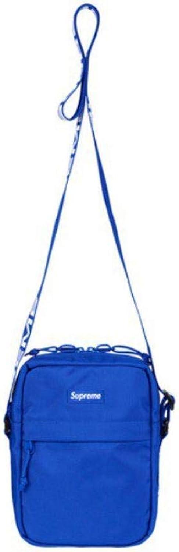 Supreme Shoulder Bag blueee SS18 Brand New 100% Authentic Real Designer SUPREMENEWYORK Supreme Sold Out Rare Travel Bag