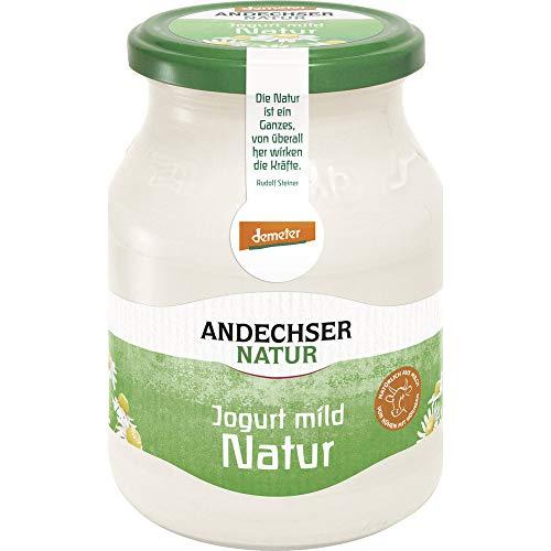 Andechser Natur Bio Bio Jogurt Natur mild demeter 3,8% (6 x 500 gr)
