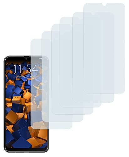mumbi Schutzfolie kompatibel mit Samsung Galaxy M30s Folie klar, Bildschirmschutzfolie (6x)