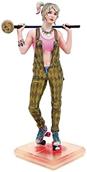 DIAMOND SELECT TOYS DC Gallery  Birds of Prey Harley Quinn PVC Figure Multicolor 9 inches
