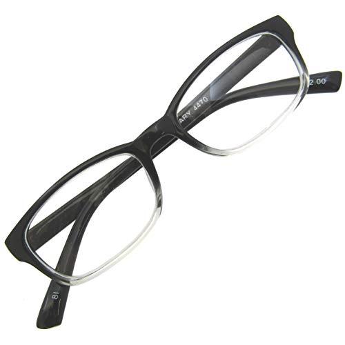 小さめ 老眼鏡 セルフレーム スクエア 非球面 レンズ シニアグラス おしゃれ リーディング 読書 グラス +2.50