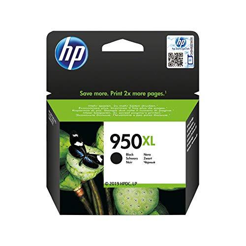 HP 950XL Schwarz Original Druckerpatrone mit hoher Reichweite für HP Officejet Pro 276dw, 8600, 8610, 8620, 251dw, 8100