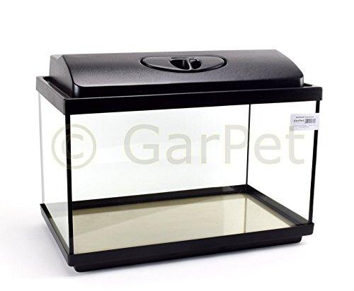 GarPet Aquarium Komplett Set rechteckig 50x30x30 LED