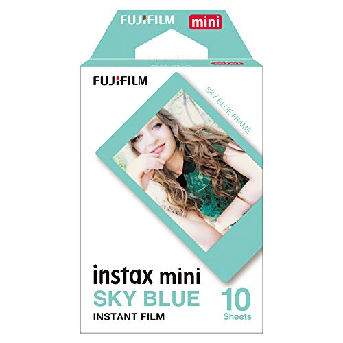 Fujifilm Instax Mini Blue - Película instantánea