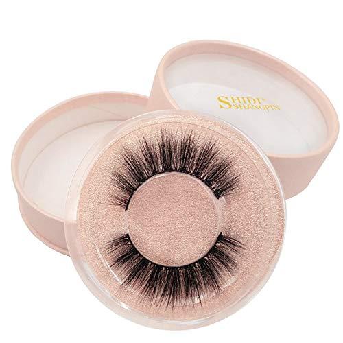 BianchiPamela 1 Pair 3D Mink False Eyelashes Fake Eyelash Natural Eye Lash Handmade Eyelash