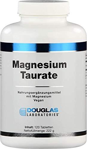 Douglas Laboratories - Magnesium-Taurat 400 - Nahrungsergänzungsmittel mit Magnesium trägt zu einem ausgeglichenen Energiestoffwechsel bei - 120 Tabletten