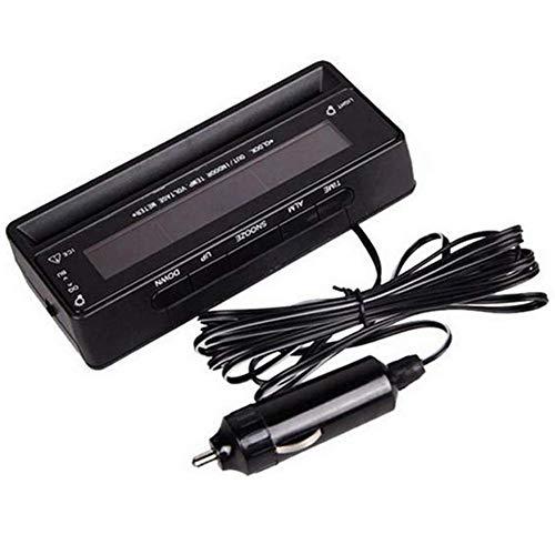 Starmood 3 in 1 Auto Thermometer Voltmeter Uhr Digital Display Screen Rücklicht für Fahrzeug