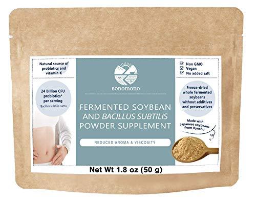 Sonomono Natto Powder Mild - Natural Japanese Probiotics to Support Gut Health and Immune System -...