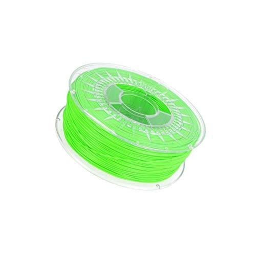 PLA-1.75-BRIGHT GREEN FiLmnt: PLA 1.75mm green (light) 200-235°C 1kg ±0,05mm D