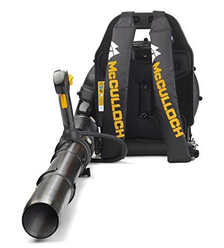 McCulloch Rücken-Laubbläser GB 355 BP, Garten Bläser mit 1500 W Motorleistung, variable Drehzahl, mit Rückentrage (Art.-Nr. 00096-70-887.01)