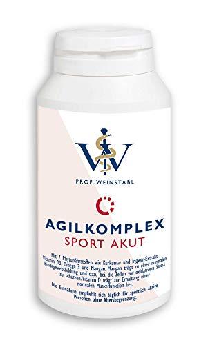 Agilkomplex Sport Akut Nahrungsergänzungsmittel | Kapseln für Sehnen und Gelenke | Für Sportler und körperliche aktive Personen
