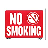 サインプレート Lサイズ 喫煙禁止【NO SMOKING】Sign Plate 看板 ガレージ インテリア アメリカン雑貨