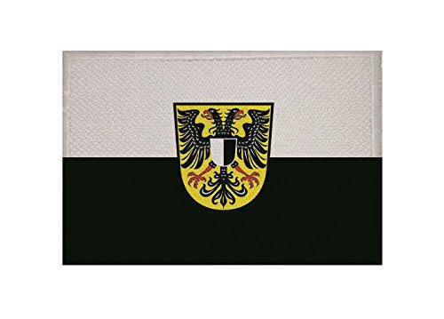 U24 Aufnäher Friedberg (Hessen) Fahne Flagge Aufbügler Patch 9 x 6 cm