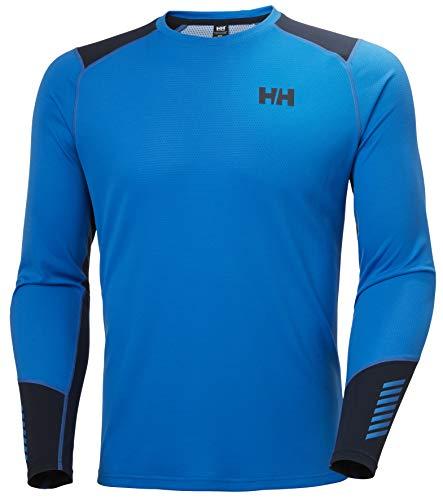 Helly Hansen Men's Lifa Active Crew Long Sleeve T-Shirt, Electric Blue, XL