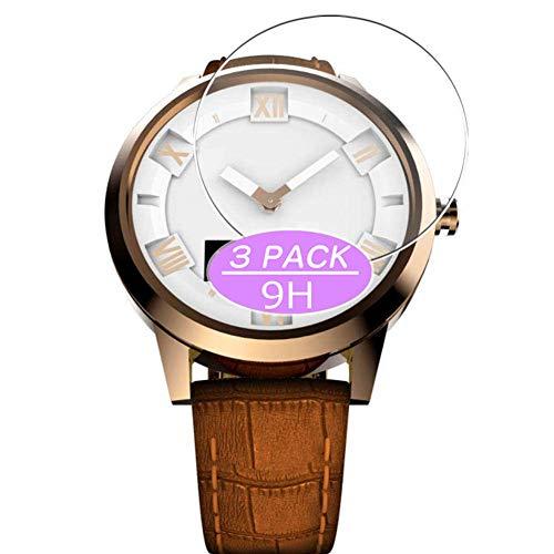 Vaxson Protector de pantalla de cristal templado, compatible con Lenovo Watch X Plus, película protectora 9H