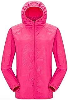 BEESCLOVER Quick-Dry Sports Clothing Men Women Hiking Jacket Light-Weight Windproof Waterproof Nylon Sports Top Suit