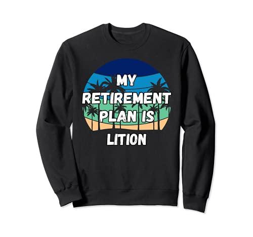 Lition Crypto, mi plan de jubilación es Lition Sudadera