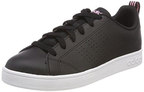 Adidas Vs Advantage Cl, Zapatillas de Deporte Mujer, Negro (Negbas/Negbas/Rossua 000), 38 EU