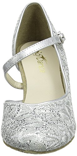 So Danca Damen Standard & Latein Tanzschuhe – Standard & Latein Bl504, Silber (Silver Sparkle), 41.5 EU (11 US) - 2