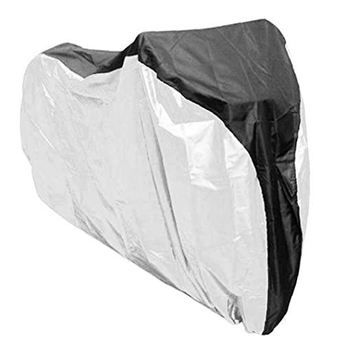 Cubierta De La Bici, 190t Nylon Impermeable UV Protecci¨n a Prueba De Polvo Cubierta De Bicicletas para El Almacenamiento Al Aire Libre De Interior 2 Monta?a,