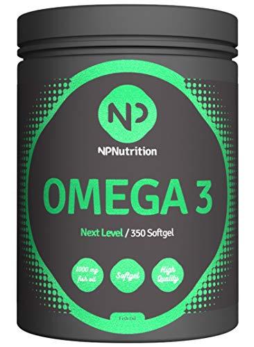 NP Nutrition Omega 3 350 Softgel-Kapseln
