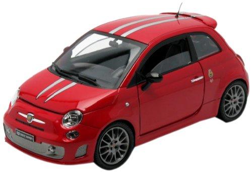 Mondo Motors - 50107 - Véhicule Miniature - Fiat 695 Abarth Tributo Ferrari - Echelle 1/18