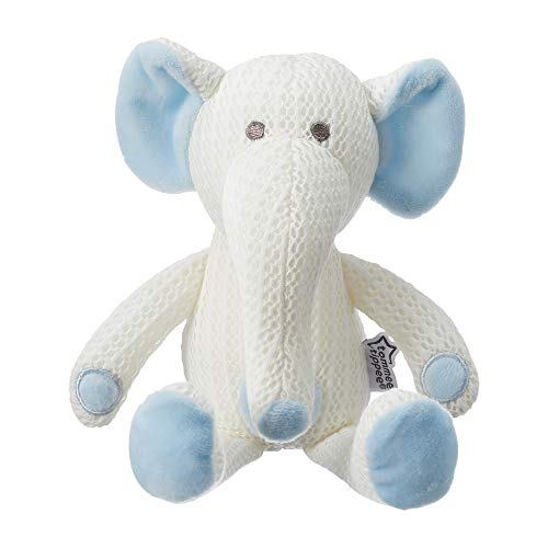 Tommee Tippee Hypoallergenic Stuffed Animal Breathable Toy, Machine Washable, Eddy the...