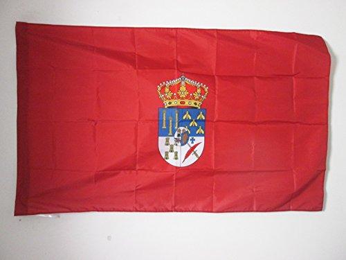 AZ FLAG Bandera de la Provincia DE Salamanca 90x60cm para Palo - Bandera Salamanca ENCastilla Y LEÓN 60 x 90 cm