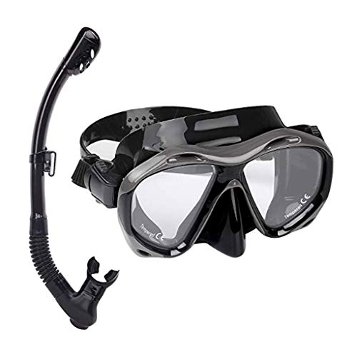 Kengsiren Conjunto De Buceo Buceo, Máscara De Buceo Anti-Niebla, Gafas De Buceo A Prueba De Fugas para Hombres Y Mujeres, Que Se Utiliza para Las Máscaras De Natación Snorkel Y Máscaras De Buceo
