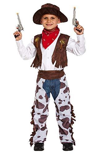 Cowboy - Disfraz niño, talla 10-12 años (U36 018)