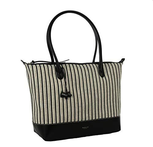 Radley Große Shopper / Strandtasche mit Reißverschluss, Schwarz