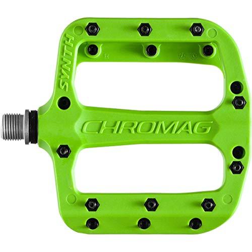 CHROMAG Synth Unisex Adult Mountain Bike/MTB/Cycle/VAE/E-Bike Pedals, Green, 110 x 107 mm
