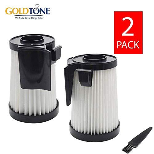 GOLDTONE Replacement DCF-10 & DCF-14 Vacuum Filter For EUREKA Optima Fits Any 430 Series Upright Vacuum Cleaner Replaces DCF14 DCF10 62396 62731 (2 Pack)