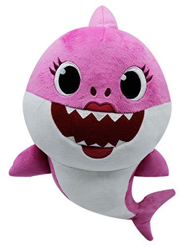 Boti- Peluche de tiburón Baby Shark Sonido, Aprox. 30 x 16 x 22 cm, de poliéster Suave, Funciona con Pilas. (36471)