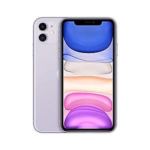 Apple iPhone 11 (128GB) - Malva (incluye Earpods, adaptador de corriente)
