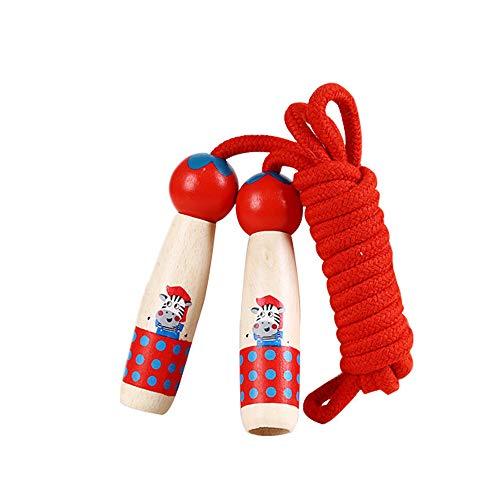 lustiges Spielzeug, ALIKEEY 3,0 m Cartoon Hohe Qualität Holzgriff Springseil Spielzeug Geschenk Für Kinder