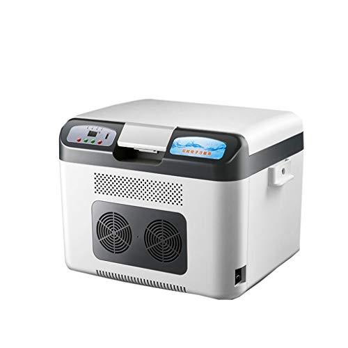 Mesur Neveras de Viaje 26L portátil pequeño compresor del refrigerador del Coche del vehículo Nevera Congelador/Calentador - Ideal for Acampar, Picnic, Playa