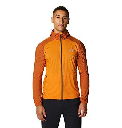 Mountain Hardwear Men's Standard KOR Preshell Hoody, Instructor Orange, Medium
