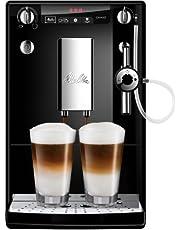 Melitta Caffeo Solo&Perfect Milk E957-101, Cafetera Automática con Molinillo, Auto Capuchinador, 15 Bares, Café en Grano, Limpieza Automática, Personalizable, Negro