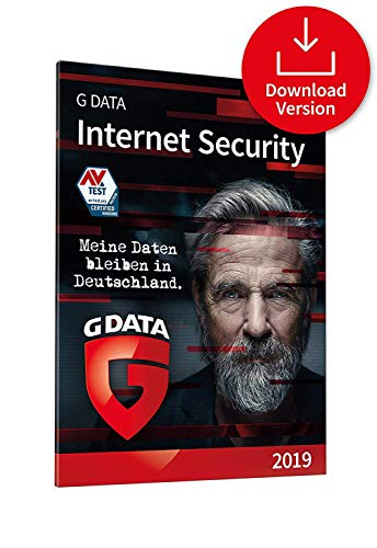 Preisvergleich Produktbild G DATA Internet Security 2019 / Antivirus / 1 PC Download - 1 Jahr / Windows / Trust in German Sicherheit / Aktivierungscode per Email