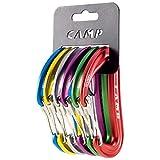 カンプ(Camp) 登山 クライミング カラビナ ダイオンラックパック (6個パック) 5265100