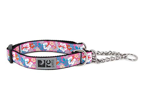 """RC Pets 0.6"""" Martingale Training Collar, X-Small, Hibiscus"""