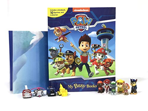 Compare Textbook Prices for Nickelodeon Paw Patrol My Busy Book -10 Figurines and a Playmat  ISBN 8581993720967 by Phidal Publishing Inc.