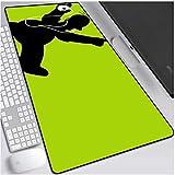ASDFGH Alfombrilla de Ratón Gaming Mouse Pad Los Simpson Juego Grande Teclado Ratón Tablero de Juego Mat Mat Cafe Extended Mousepad for PC de Escritorio Alfombrilla de ratón (Size : 900 * 300 * 3mm)