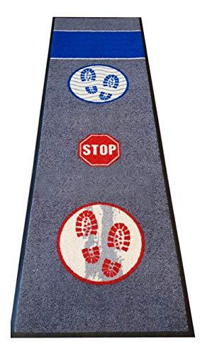 Hostelnovo – Alfombra desinfectante para Calzado – Desinfección y Secado para la Suela de Sus Zapatos – Medidas: 60 x 200 cm – 1 Pieza