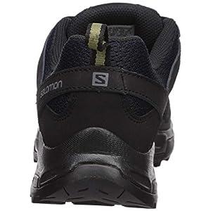 Salomon Men's Pathfinder Hiking Shoes, NIGHT SKY/Black/Military Olive, 9.5