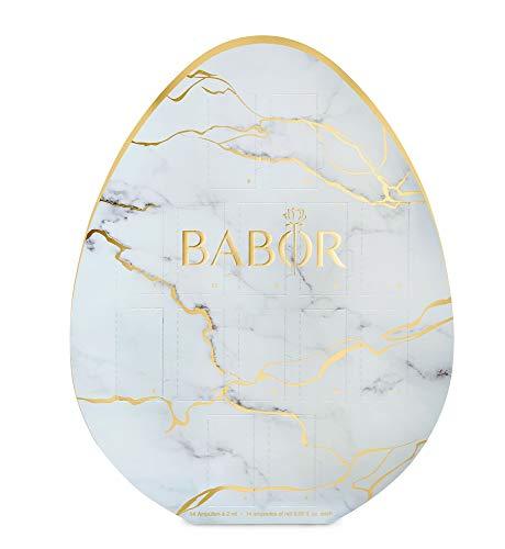 BABOR Osterei 2021, Geschenkset, Ampullen-Kur, Serum für mehr Feuchtigkeit, Regeneration, Anti-Aging, für trockene & reife Haut, 14 x 2 ml