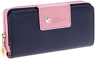 Long Wallet Clutch Bird Women Purse Simple Fashion Coin ID Card Holder Male Phone Bag Men Leather Purse portefeuille Femme
