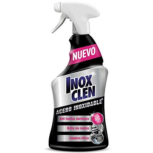 Inoxclen - Limpiador específico para acero inoxidable, brillo sin huellas, 450 ml