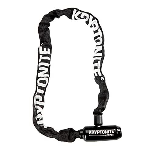 Kryptonite Keeper 585 5mm Chain Bicycle Lock, Black, 5mm x 85cm